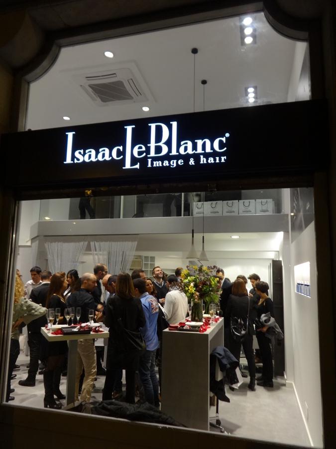 Inauguración de IsaacLeBlanc.