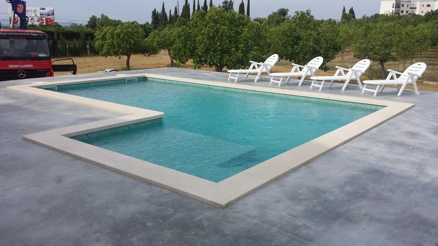 Construccion de piscinas de obra lagos algibes solarium - Piscinas desmontables 3x2 ...