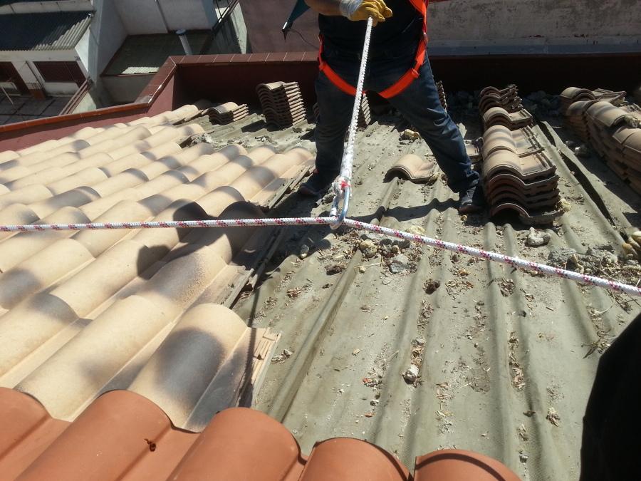 Inclinación del tejado