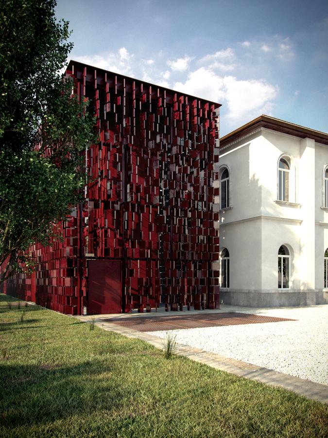 Infoarquitectura exterior fachada2