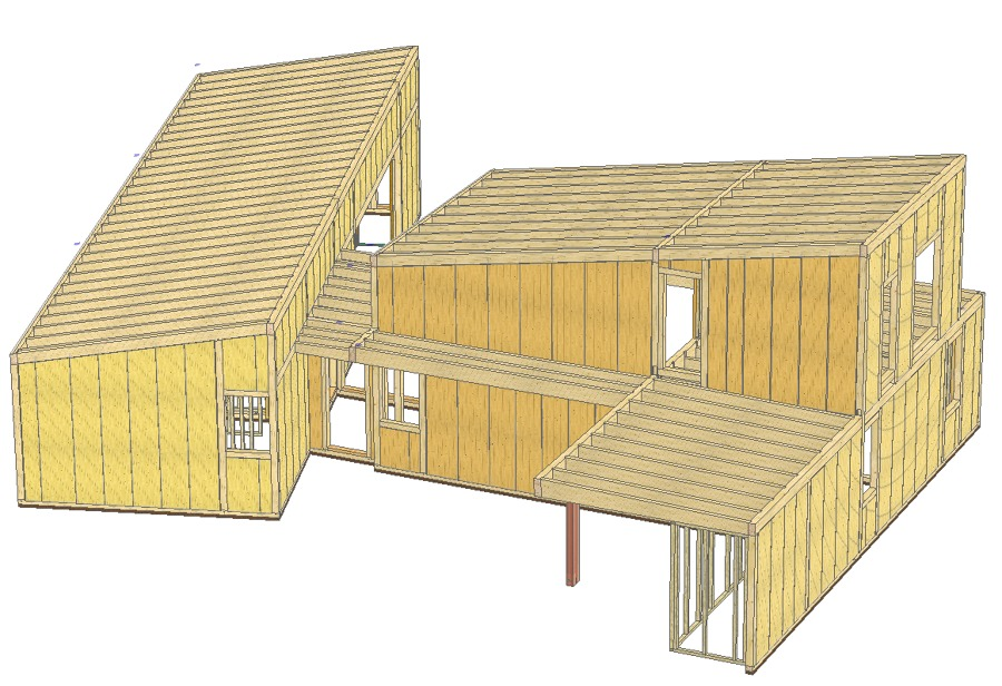 Infografía de la estructura en fase de diseño