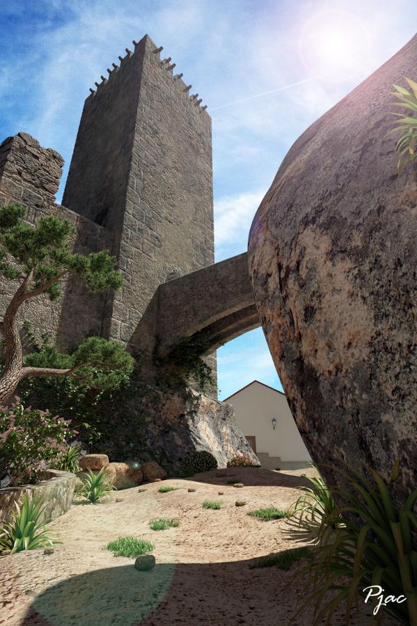 Infografía del Castillo de Buñol