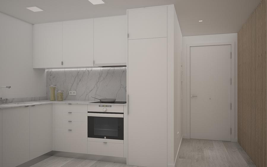 infografia del proyecto de la cocina