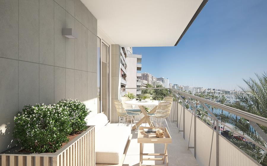 infografia del proyecto del balcon