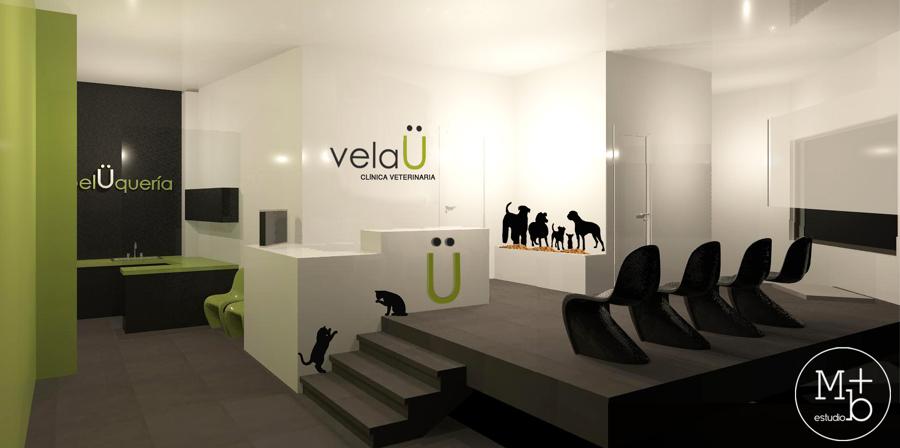 Proyecto cl nica veterinaria velau ideas arquitectos - Diseno de clinicas veterinarias ...