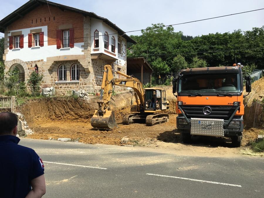 Inicio construcción garaje