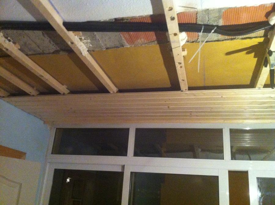 Union de terraza a dormitorio principal revistiendolo de - Duelas de madera ...