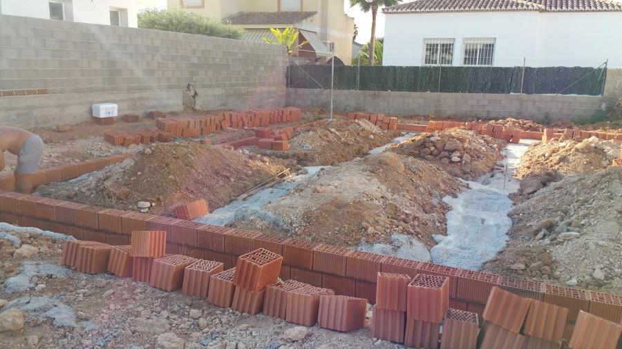 Inicio de muros estructurales