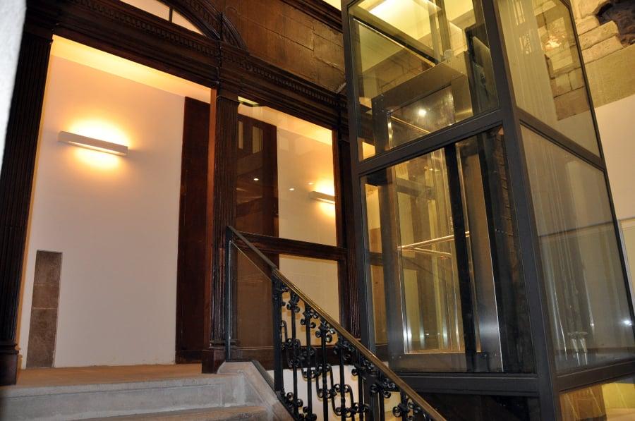instalación de un ascensor