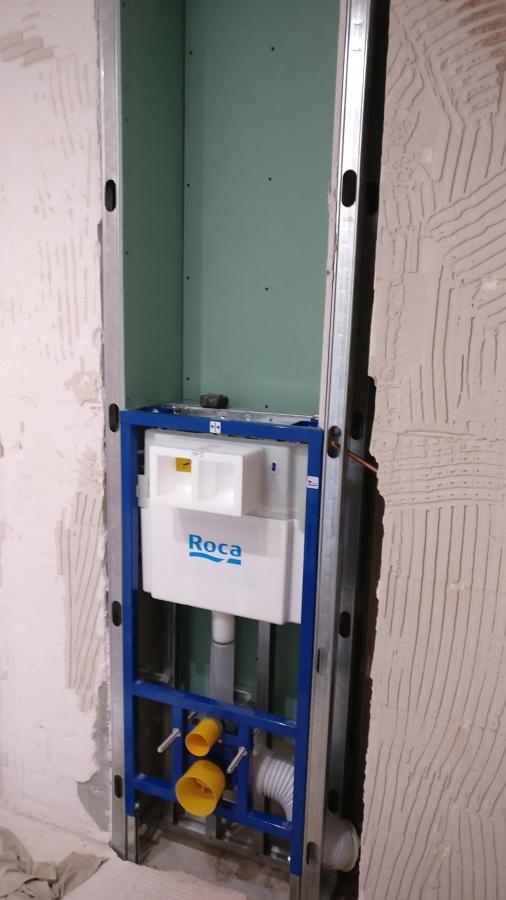 Instalación cisterna oculta