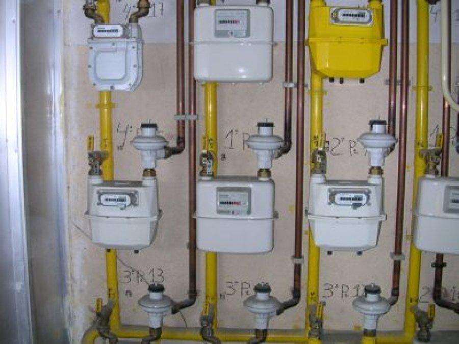 Instalación comunitaria de gas natural