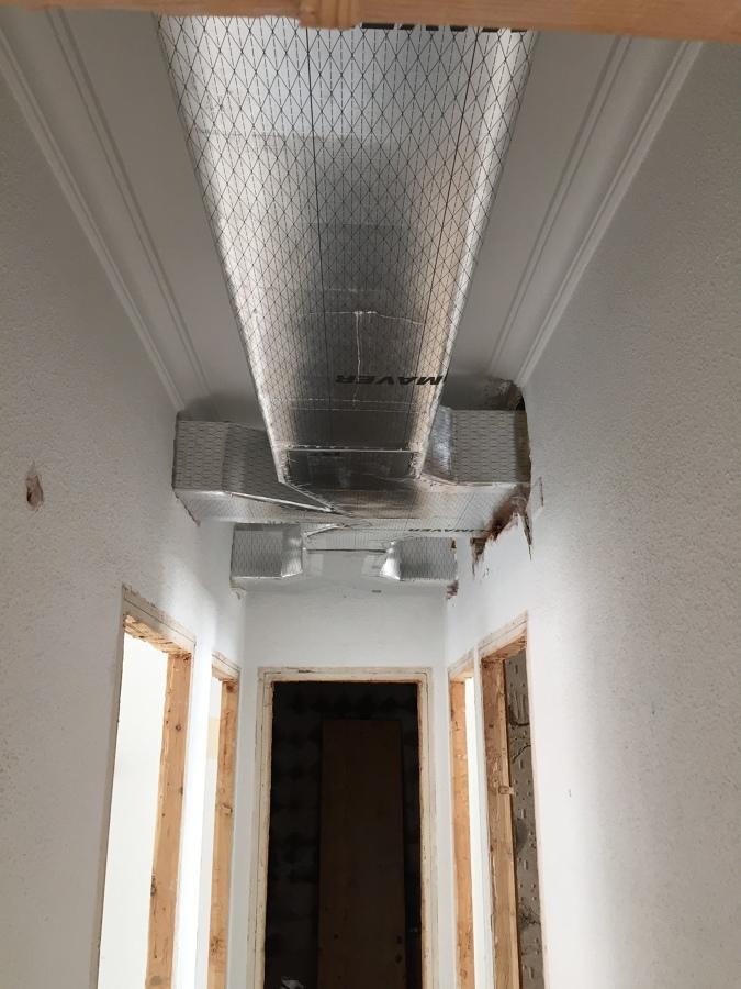 Instalación conductos climatización