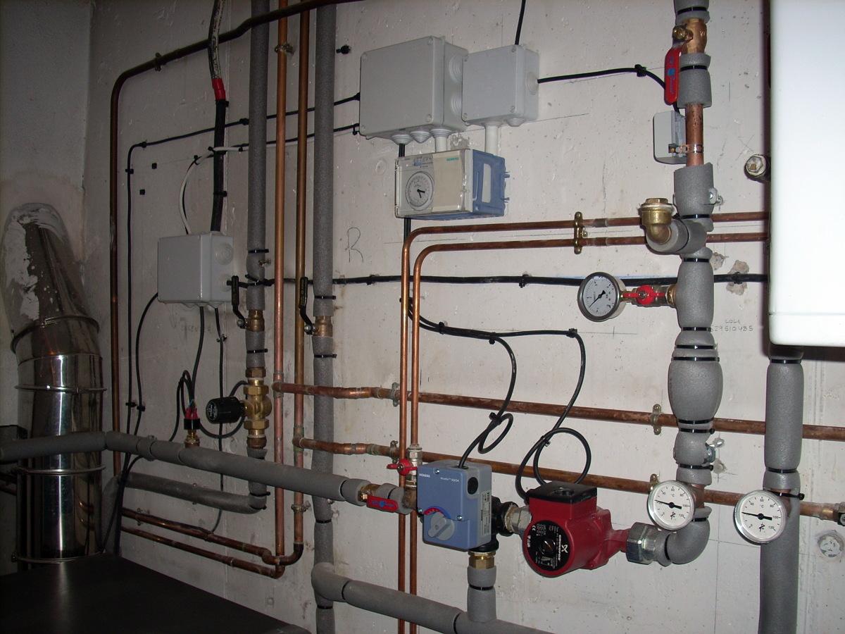 Foto instalaci n cuarto de calderas con regulaci n por - Instalacion calderas de gas ...