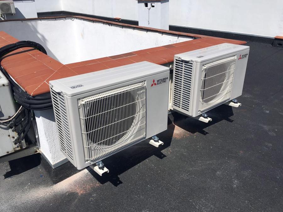 Instalación de aire acondicionado en vivienda 1