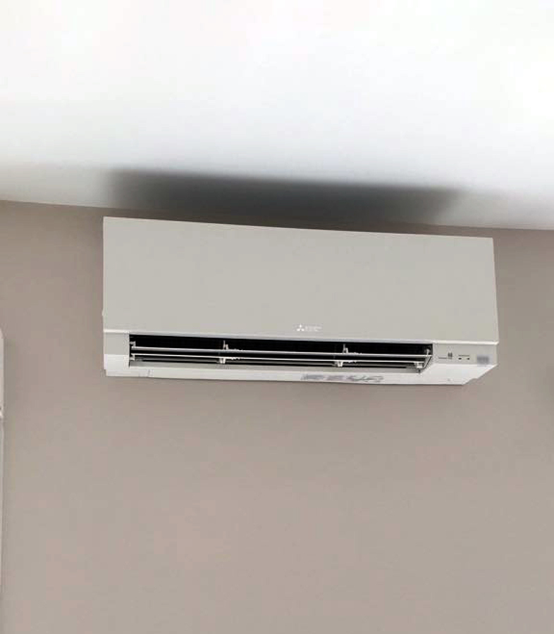 Instalación de aire acondicionado en vivienda 2