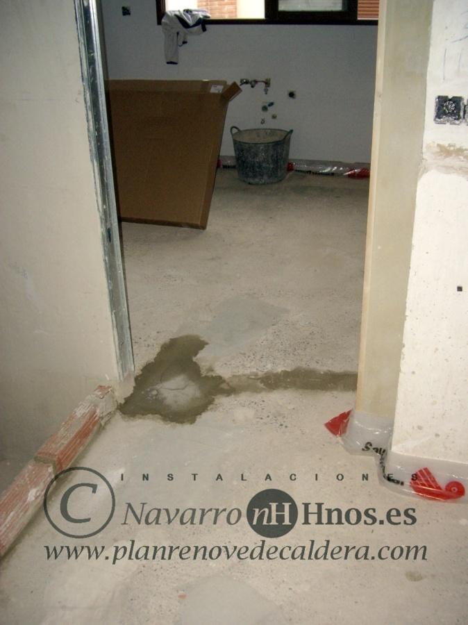Instalaci n de calefacci n por suelo radiante en el puig - Calefaccion por suelo radiante precio ...