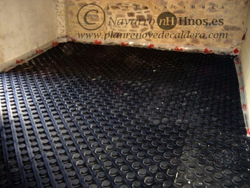 Foto instalaci n de calefacci n por suelo radiante en el - Calefaccion por suelo radiante ...