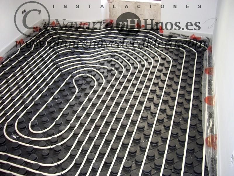 Instalaci n de calefacci n por suelo radiante en el puig - Calefaccion en el suelo ...