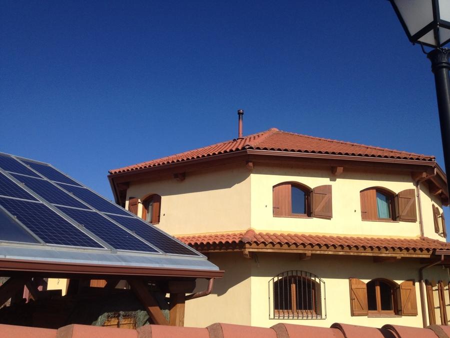 Instalación de calefacción solar con apoyo de Biomasa