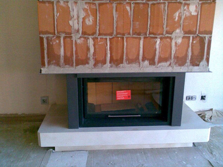 Foto instalaci n de chimenea de chimeneas f nix 134961 for Instalacion de chimeneas
