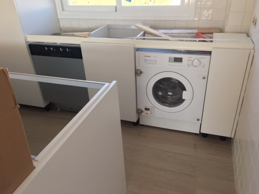 Instalación de electrodomésticos