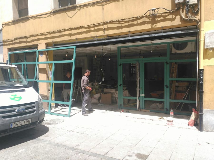 instalación de fachada