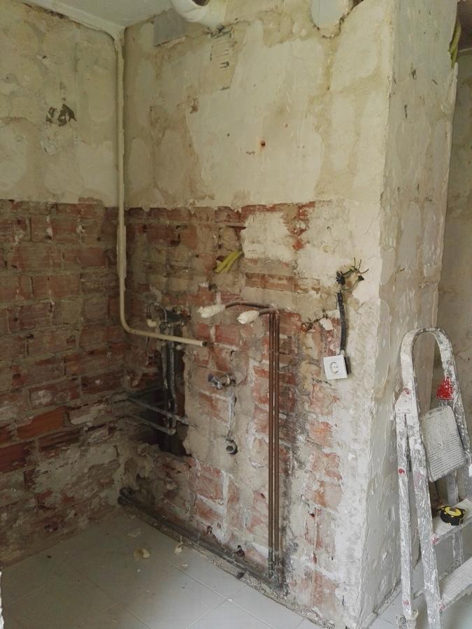 instalacion de fontaneria antigua
