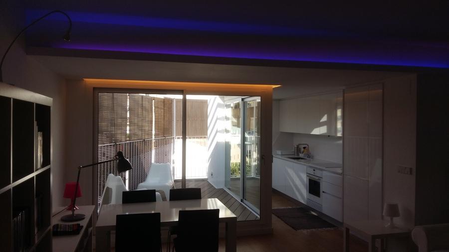 instalacion de iluminacion led