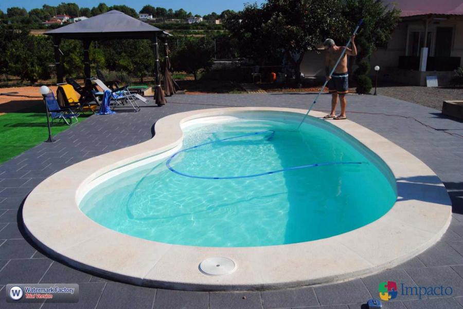 Instalaci n lona de piscina cobertor de invierno ideas for Piscina sagunto