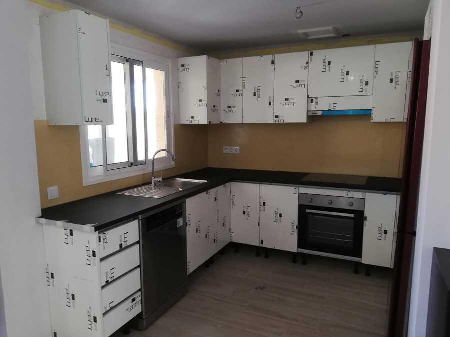 instalación de los  electrodomésticos