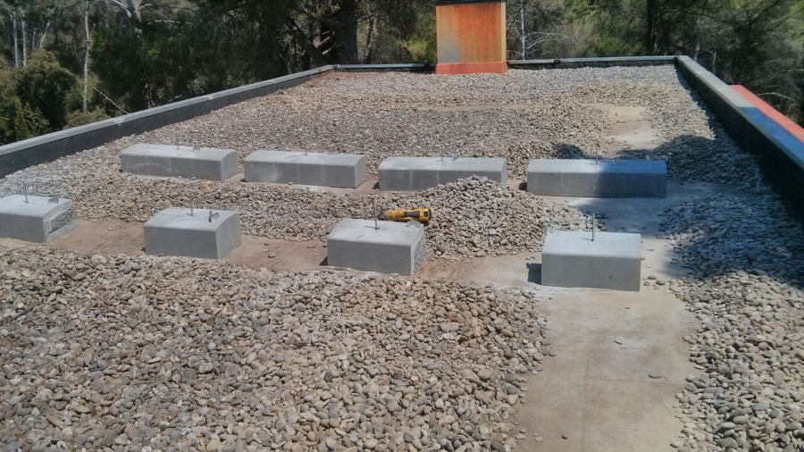 Instalación de los esparragos