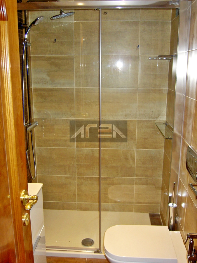 Instalar mampara de ducha modelo with instalar mampara de ducha interesting os presentamos - Instalar una mampara de ducha ...