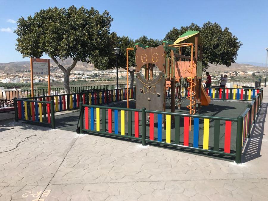 Instalación de mobliliario infantil