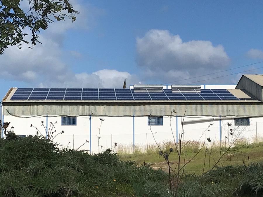 Instalación de Módulos Fotovoltaicos