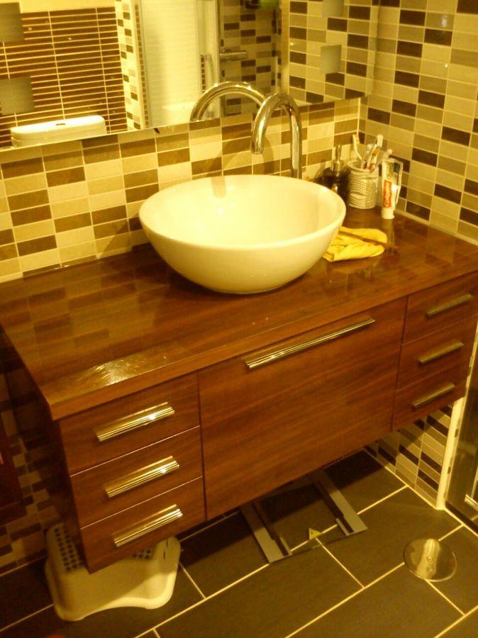 instalacion de lavabos para baofoto instalacin de mueble de bao con lavabo de encimera de innova instalacion de lavabos para bao