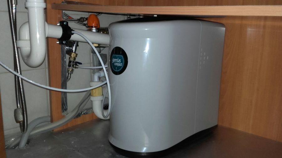 Instalación de osmosis compacta