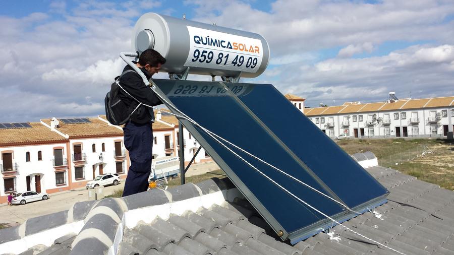 Instalaci n de placas solares para agua caliente sanitaria - Agua caliente solar ...