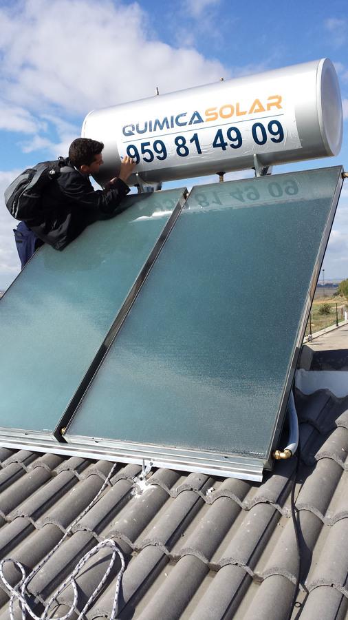 Instalaci n de placas solares para agua caliente sanitaria for Placas solares para calentar agua