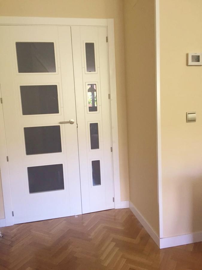 Instalacion de puerta doble