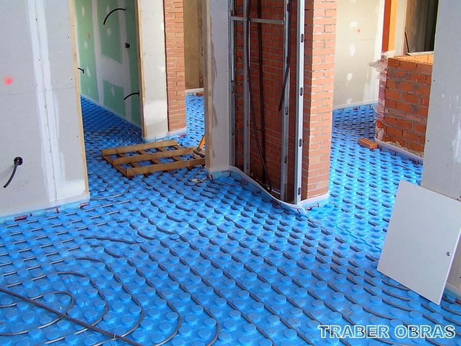 Foto instalaci n de suelo radiante en toda la vivienda - Colocacion suelo radiante ...