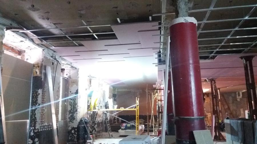 Instalación de techo