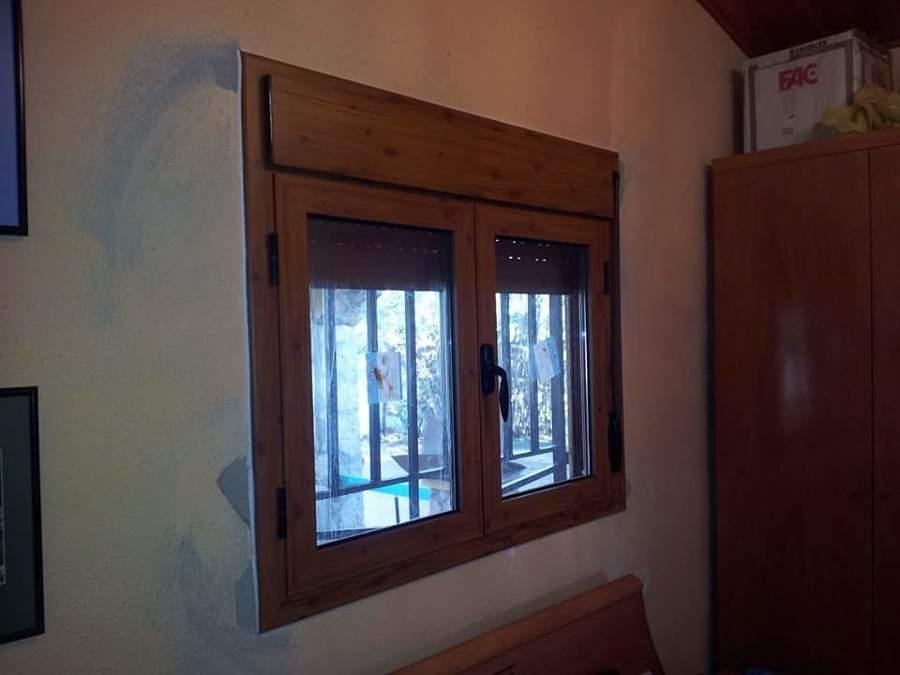Instalacion de ventanas imitacion madera ideas for Ventanales de aluminio imitacion madera