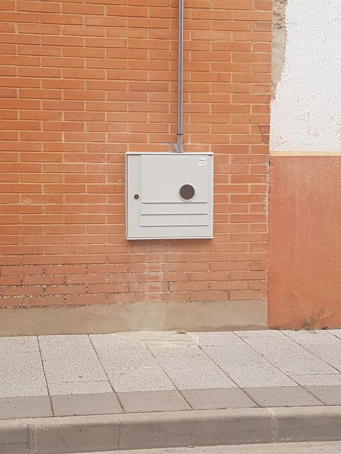 INSTALACION DEL ARMARIO DE GAS