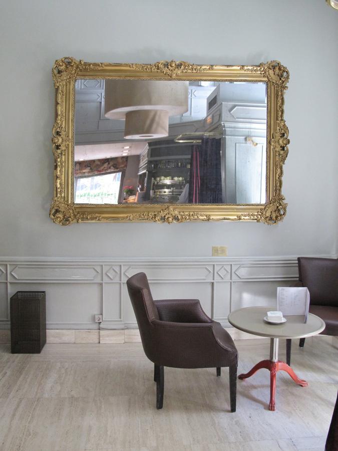 Instalación del espejo estilo Victoriano