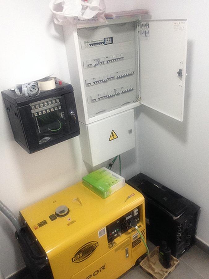 Instalacion electrica.