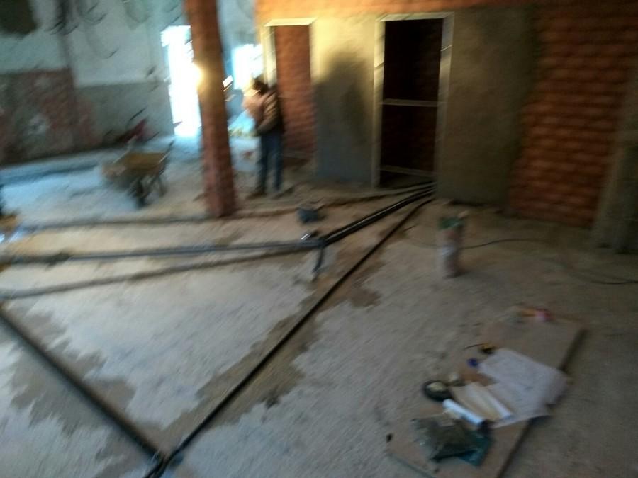 Instalación Eléctrica bajo suelo