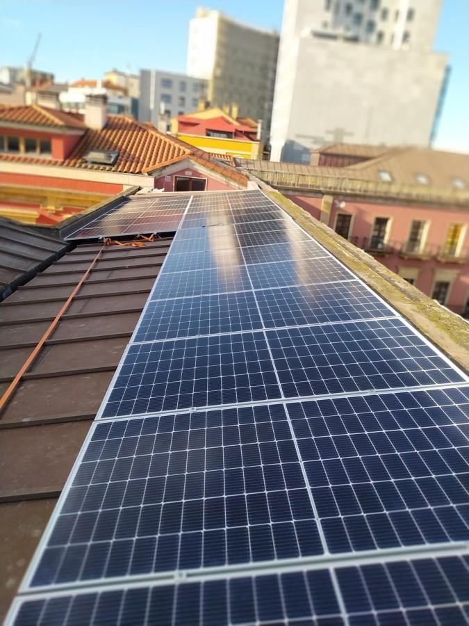 Instalación fotovoltaica 2 strings