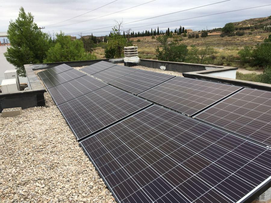 Instalación fotovoltaica en Alcañiz