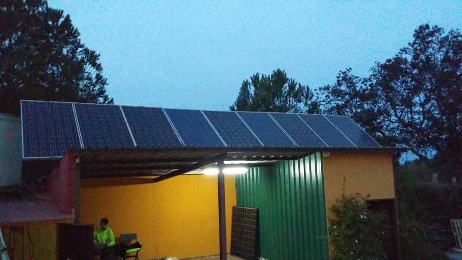 Instalación fotovoltaica para vivienda 2