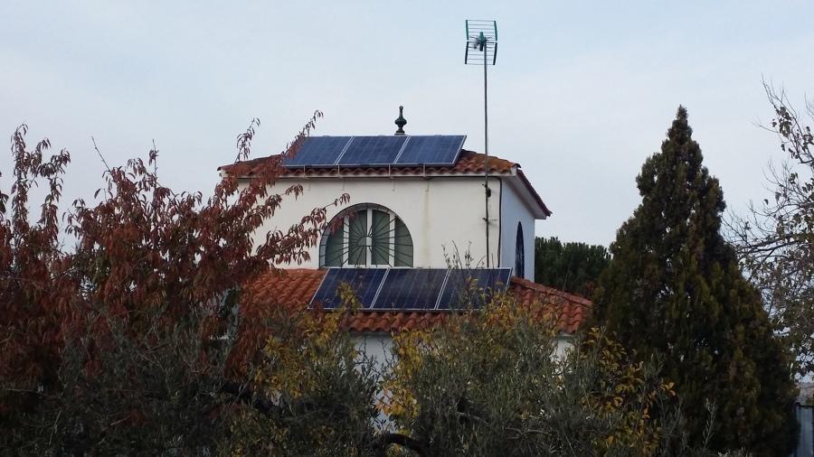 Instalación fotovoltaica para vivienda 3